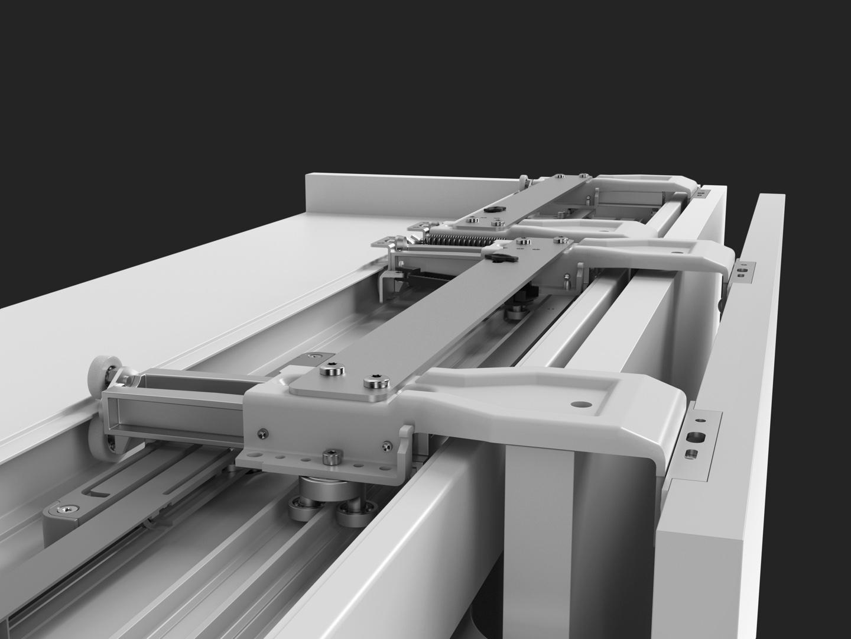 Meccanismo Ante Scorrevoli Complanari.Anta Scorrevole Complanare Slider S20 Bortoluzzi Con Video Aelle