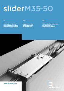 Meccanismo Ante Scorrevoli Complanari.Sistema Scorrevole Complanare Slider M35 Bortoluzzi Con Video Aelle
