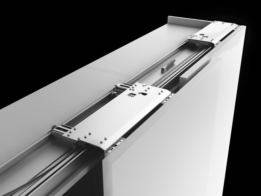 Meccanismo Per Ante Scorrevoli Complanari.Sistema Scorrevole Complanare Slider M35 Bortoluzzi Con Video Aelle